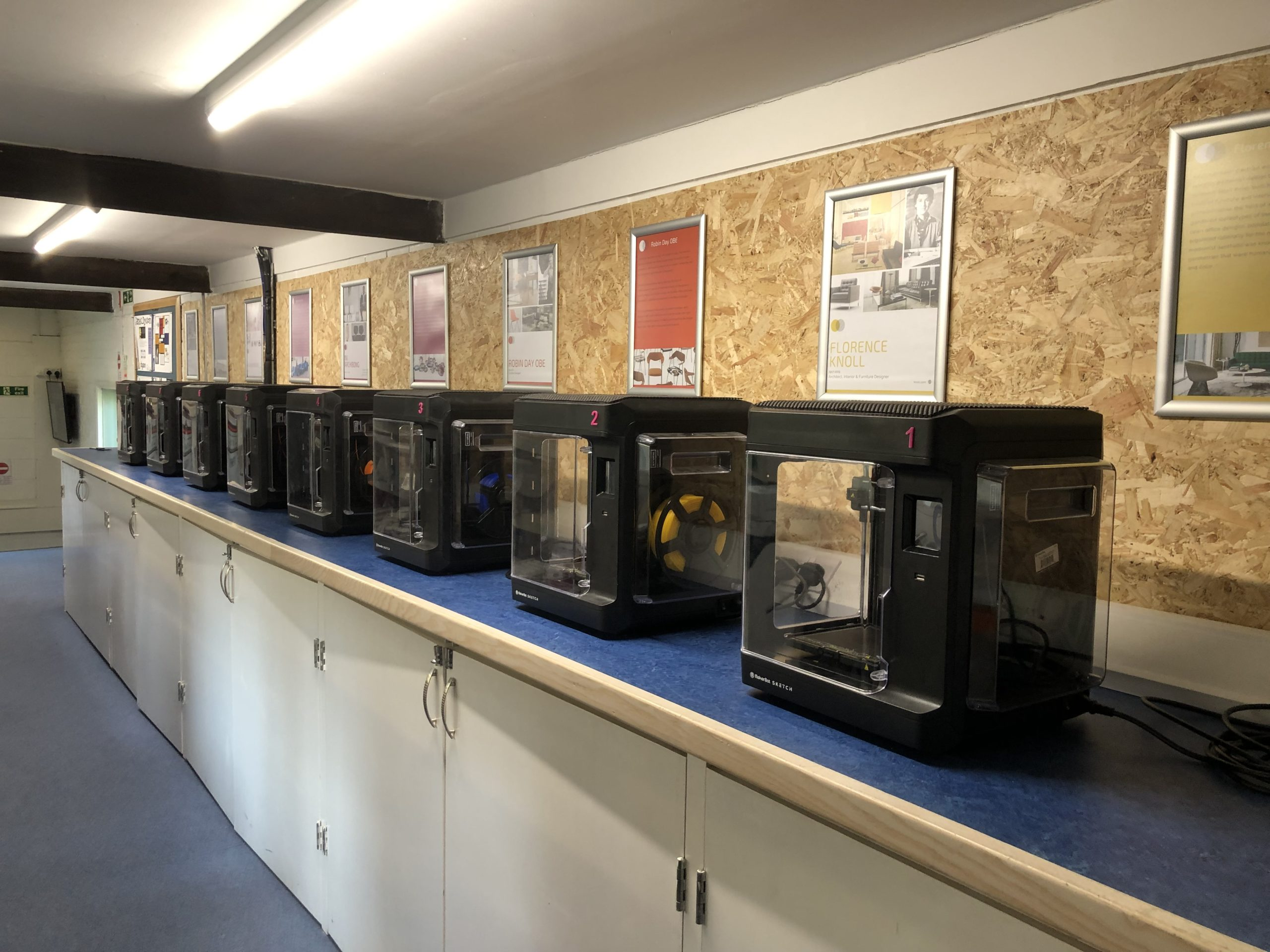 With additional SKETCH 3D printers at their disposal, student workflow and productivity have drastically improved